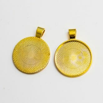 kovove-lozko-zlate-25mm
