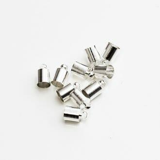 koncovka-6x10mm-strieborna