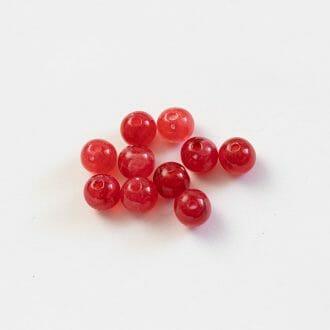 plastove-koralky-mliecne-8mm-jade-cervene