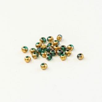 brusene-sklenen-koralky-4mm-zlato-zelene